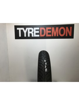 100 90 16 Bridgestone Battlax BT45F   Part Worn Motorcycle Tyre D238