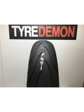 160 60 18 Michelin Pilot Road 2  Part Worn Motorcycle Tyre F491