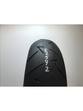 180 55 17 ZR Continental Conti Road Attack 2 GT  Part Worn Motorcycle Tyre
