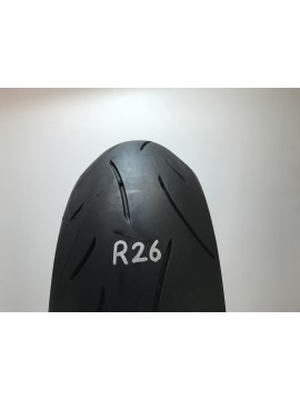 190 50 17 ZR Dunlop Sportmax D214  Part Worn Motorcycle Tyre R26