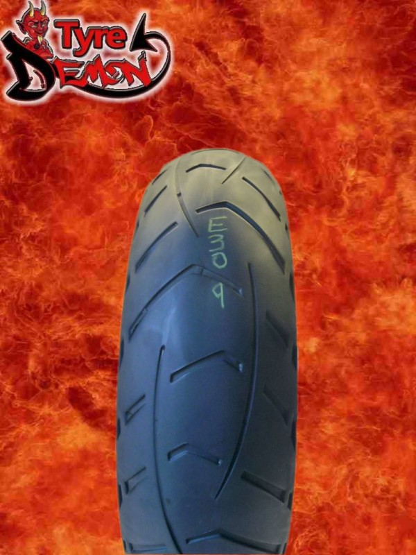 170 60 17 metzeler tourance next part worn motorcycle tyre e309 ebay. Black Bedroom Furniture Sets. Home Design Ideas