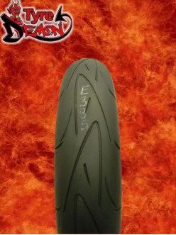 120 70 17 Continental Conti Sport Attack Part Worn Motorcycle Tyre E385