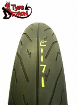 120 90 17  Maxxis ST Part Worn Motorcycle Tyre E1171