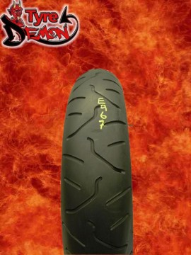 120 65 17 Bridgestone Battlax BT014 Part Worn Motorcycle Tyre E967