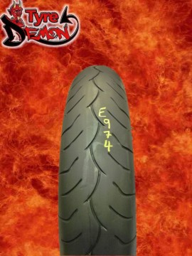 120 70 17 Dunlop D252F Part Worn Motorcycle Tyre E974
