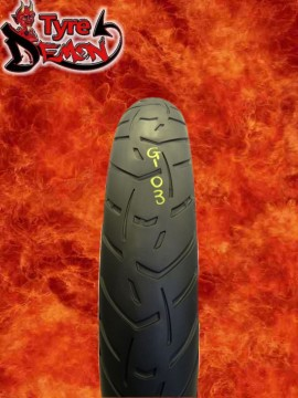110 80 19 Metzeler Tourance Next Part Worn Motorcycle Tyre G103